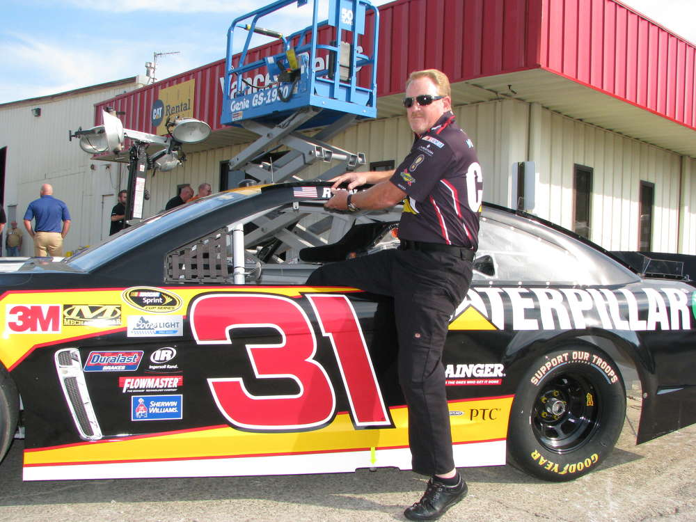 Tony Hill, Richard Childress Racing, based in Welcome,