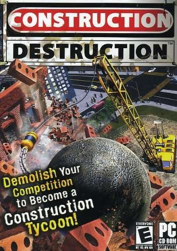 Construction Destruction Computer Game by Valuesoft