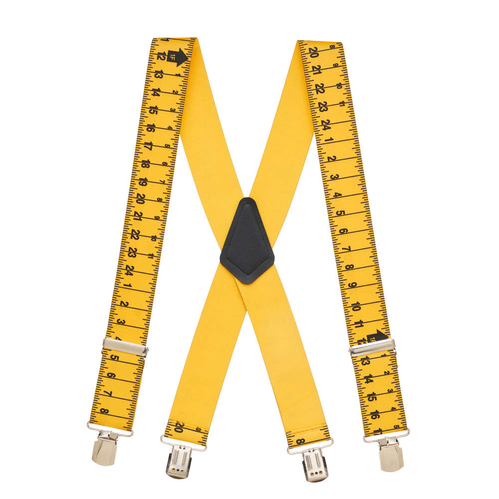 Tape Measure Suspenders