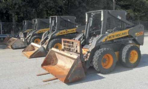 Highlighted lots within this sale included a good choice of 2010 specification New Holland L170 and L175 skid steer loaders, which receive significant interest and achieved prices around the $13,000 mark.