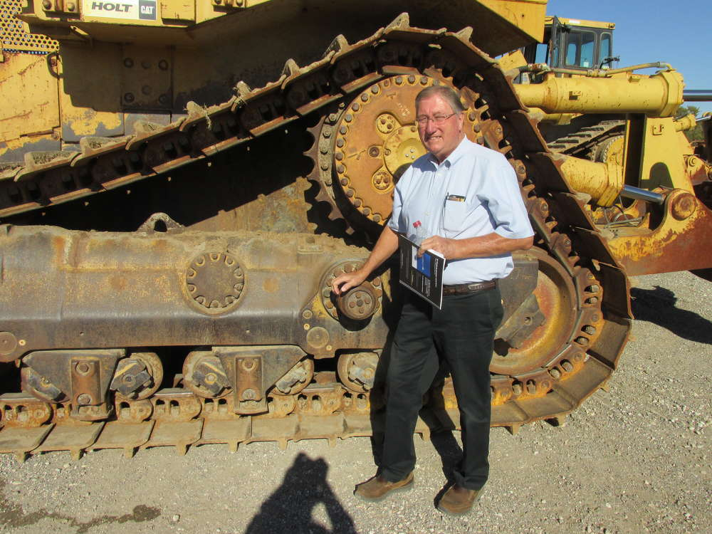Kirk Evans, Evans Ranch in Wills Point, Texas, is interested in this Cat D10R for pulling fence post on all his ranches.
