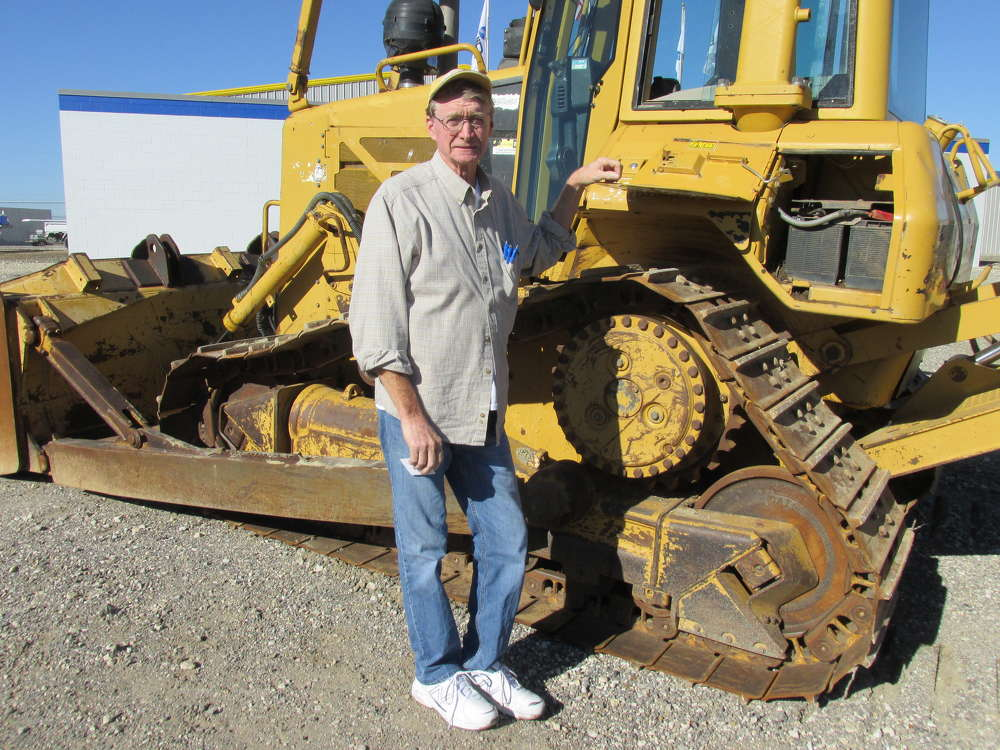 Dave Compton, Dave's Dozers in Greenville, Texas, plans to add this Cat D6 to his working fleet.