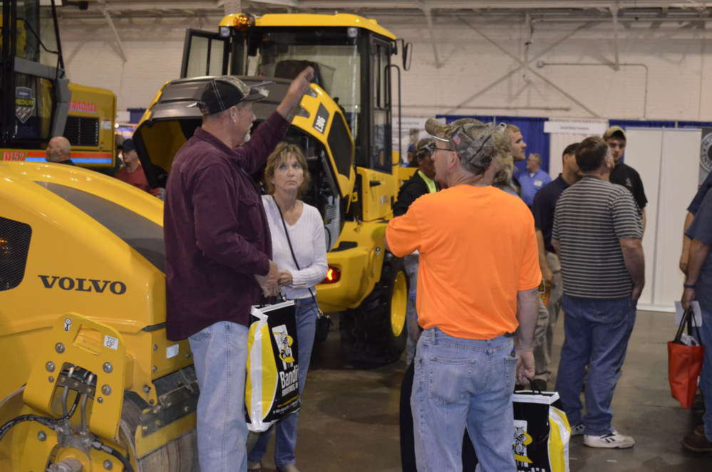 Vantage Equipment showcased the latest roadbuilding and maintenance equipment from Volvo and Gradall.