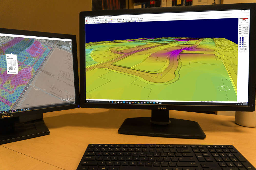 Earthwork 4D uses internet keys, which let customers work from their office, truck or kitchen table, further enhancing the power of John Deere WorkSight.