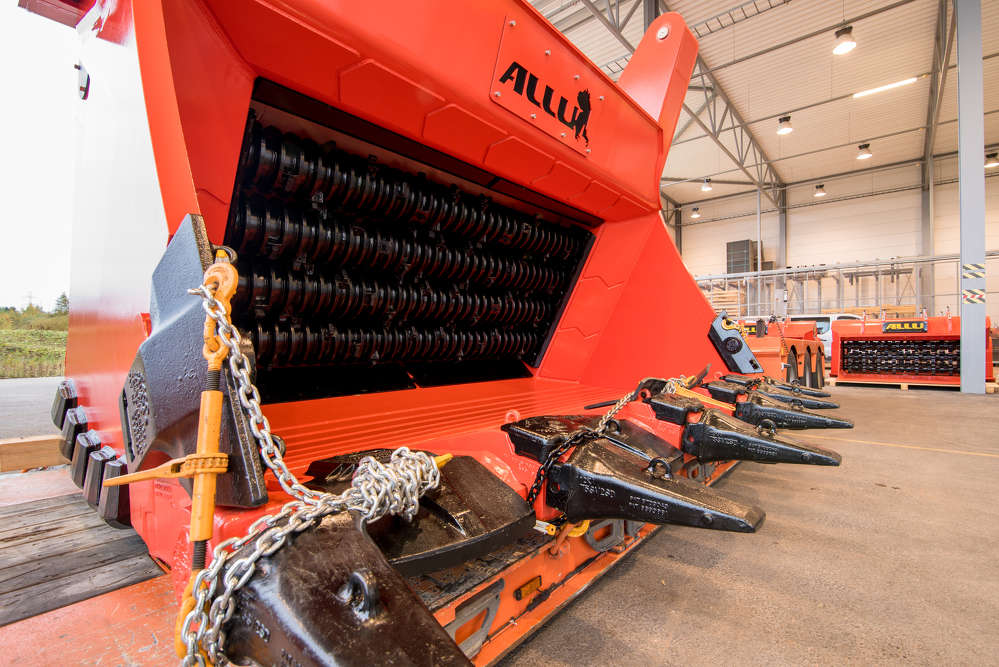 The new ALLU DARE Data Reporting System, connected to the ALLU Screener Crusher, enables the customer to monitor performance at the jobsite, and produces data that will help to manage the working processes.
