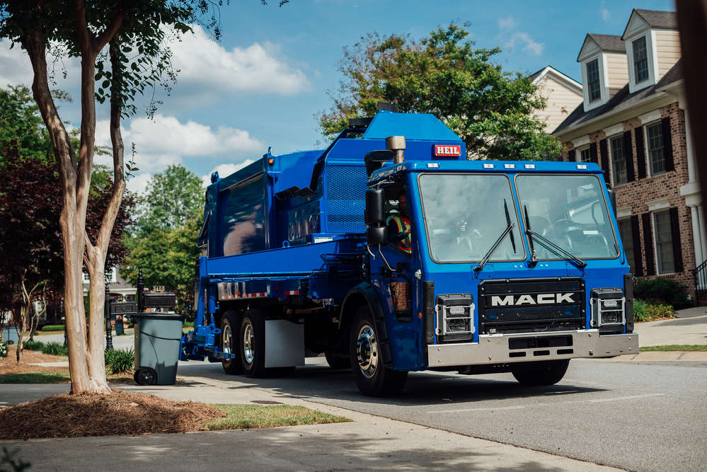 Mack GuardDog Connect, Mack's integrated telematics solution, is now available and standard in all Mack-powered vehicles, including the Mack LR, Mack's newest refuse model