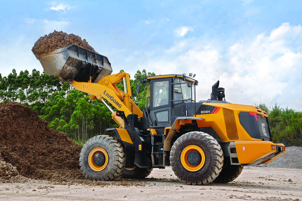 Among the first products tested at LiuGong's core research center in Liuzhou, China, were the H-series wheel loaders. Auxiliary R&D units are located in Poland, India, Great Britain and the United States.