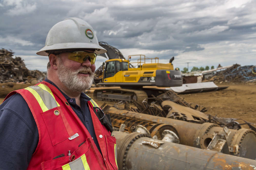 Stuart Sharpe, general manager, Tervita, said his team is gaining fuel efficiency and lowering operating costs as new generations of shears are allowing them to get the same power on 35- and 40-ton machines that used to be achieved with only larger machines.