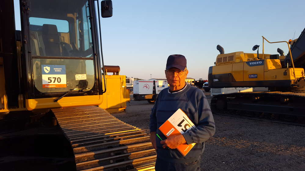 Paul Wirt, D&P Construction, Worster, Ohio, considers 