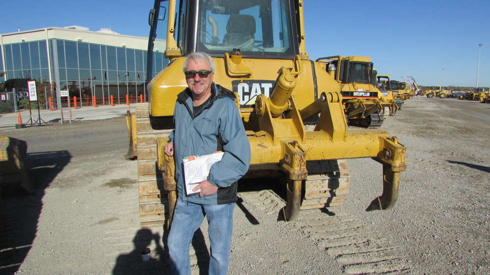 Chris Laman, Laman Equipment Sales in Cave City, Ark., said this Cat D6N is the dozer he is going to bid on.