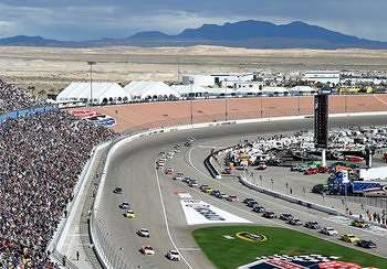 Join the NASCAR style celebration at the Las Vegas Motor Speedway and enjoy live music, beverages, buffet, and unique concessions.