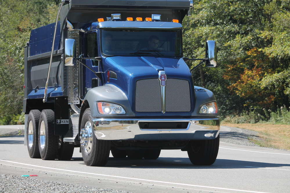 The Bendix Wingman Advanced system is now available for order as an option for the Kenworth T370 medium duty truck in certain vocational applications such as aggregate hauling.