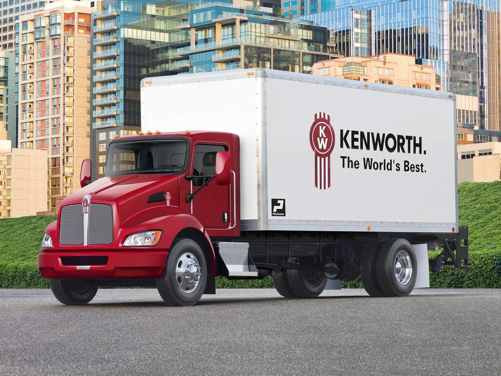 The Bendix Wingman Advanced system is now available for order as an option for Kenworth T270 and T370 medium duty trucks.