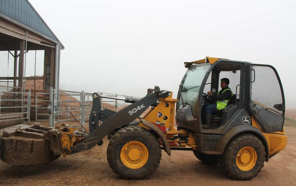 Pierce Builders is not the only John Deere fan. Oakridge Dairy also relies on W.I. Clark Company for its Deere equipment and services.