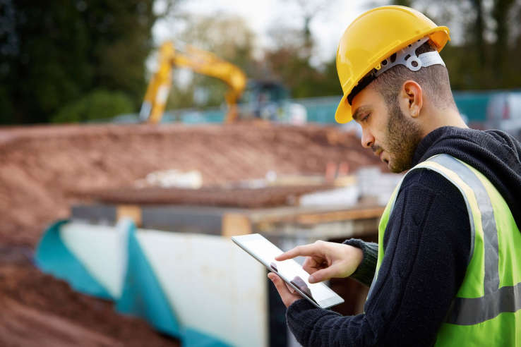 The company's cloud-based project management apps help subcontractors track and get compensated for all the work they do on construction jobs. (Tech Crunch photo)