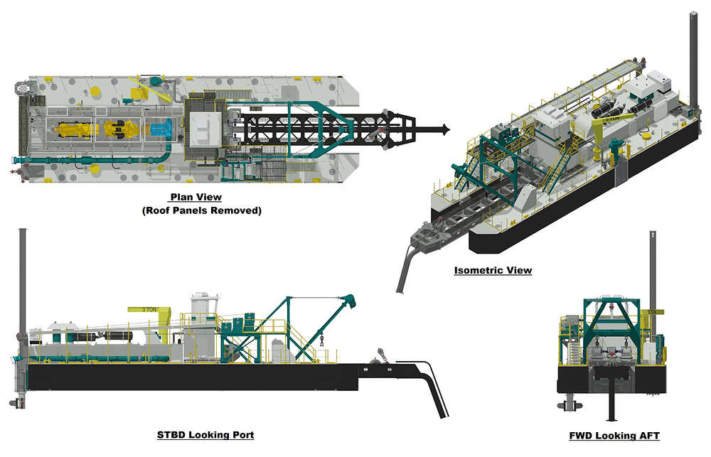 DSC's dredging solutions are rooted in a number of base models that are then customized to match the customer's goals.