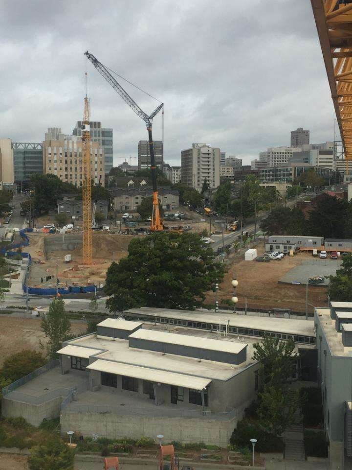 One only need to look to the sky to confirm that construction in the Pacific Northwest is booming.