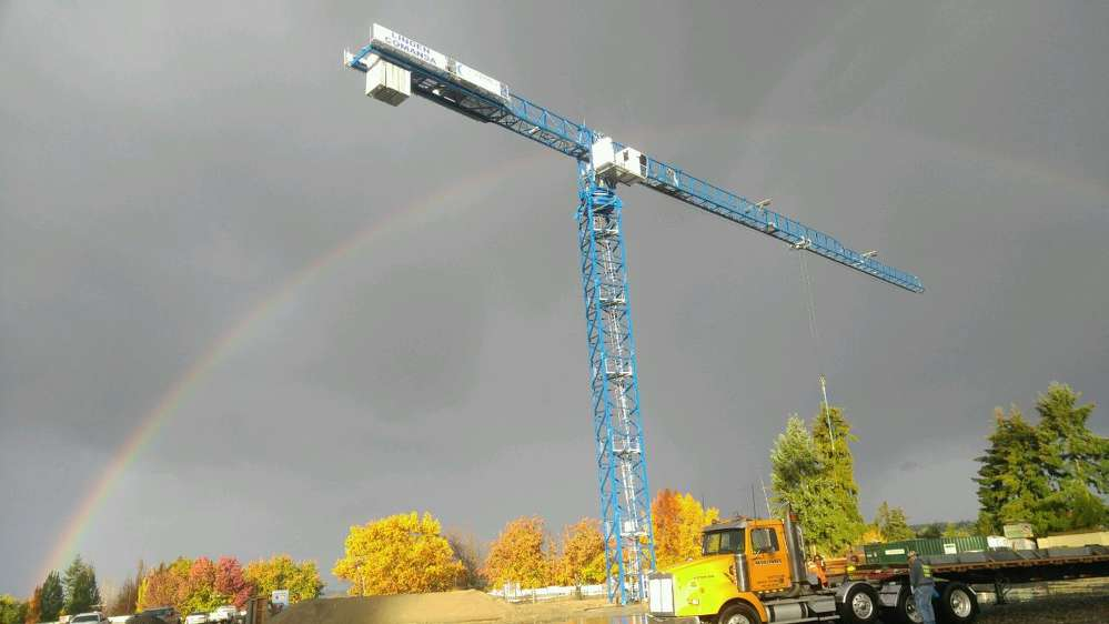 """The Seattle Times dubbed the city """"the crane capital of America,"""" noting that it had more cranes on the job than any other city in the country."""