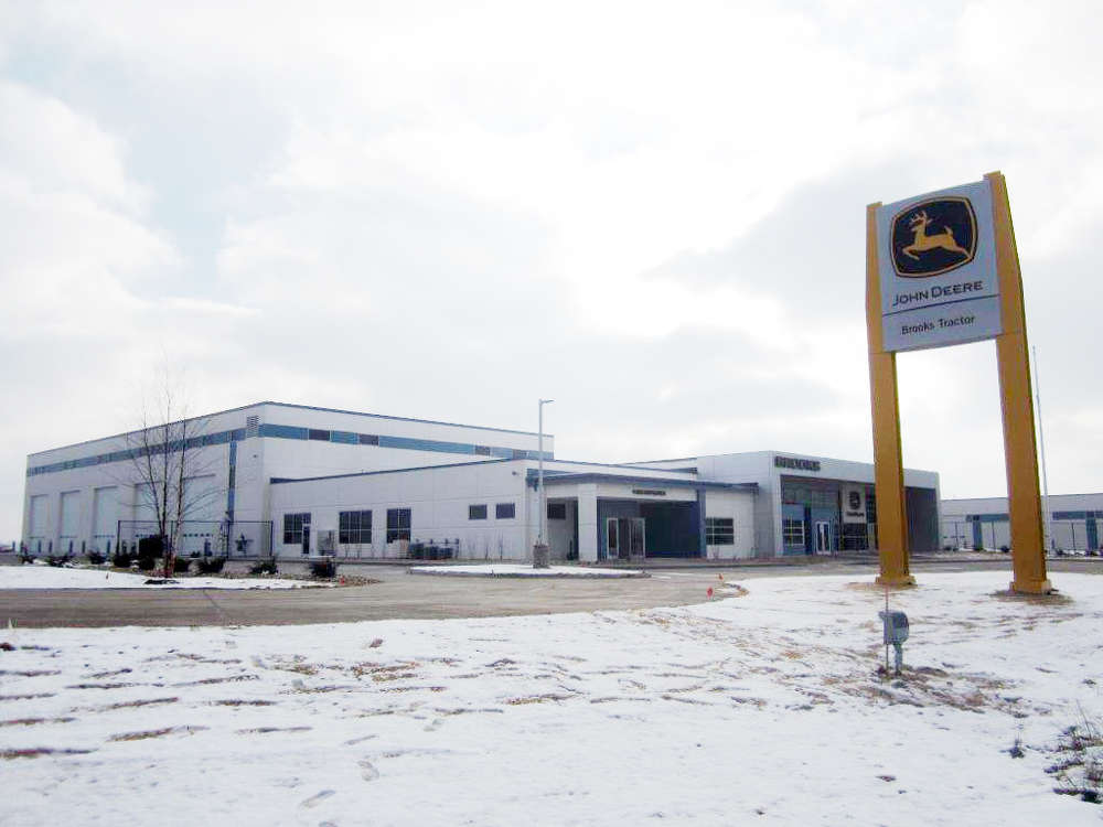 Brooks Tractor, a Wisconsin-area construction equipment dealer, announced its newest 35,000-sq.-ft. branch in Mount Pleasant, Wis.