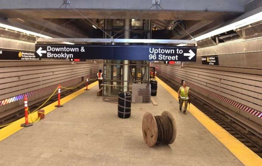 In this Dec. 9, 2016 file photo provided by the Office of New York Gov. Andrew M. Cuomo, work continued on the Second Avenue subway station at 72nd Street in New York. (Kevin P. Coughlin/Office of New York Gov. Cuomo via AP)