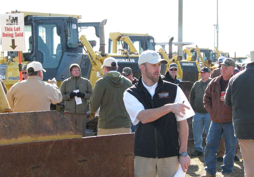 Jeff Martin Auctioneers held an auction in Perry, Ga., on Dec. 15.