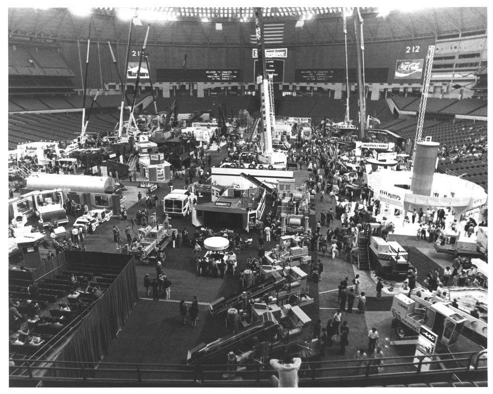 Houston, Texas played host for ConExpo 1981.