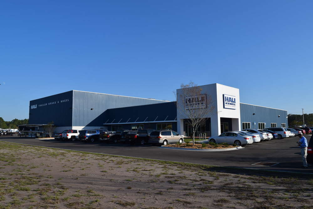 Hale Trailer Brake & Wheel opened its new branch location at 271 Halsema Road South, Jacksonville, Fla., 32221.