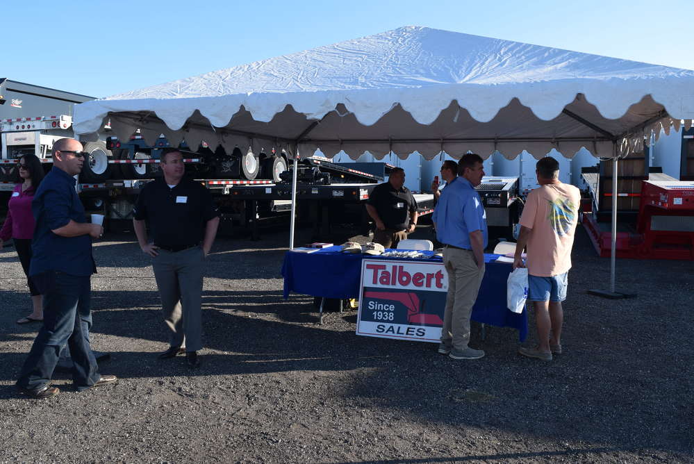 e the opportunity to talk to Talbert representatives at the Hale Trailer open house.