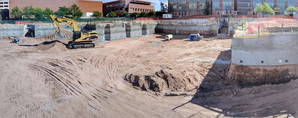 Construction on the building began in June of 2016 and completion is scheduled for June 2018.