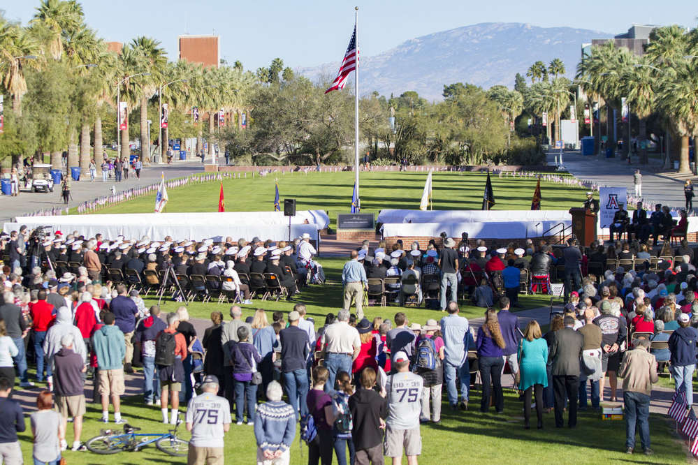 Hellas Construction is proud to have been a part of the construction of the USS Arizona Mall Memorial, located on the University of Arizona campus in Tucson, Ariz., that was dedicated Dec. 4.