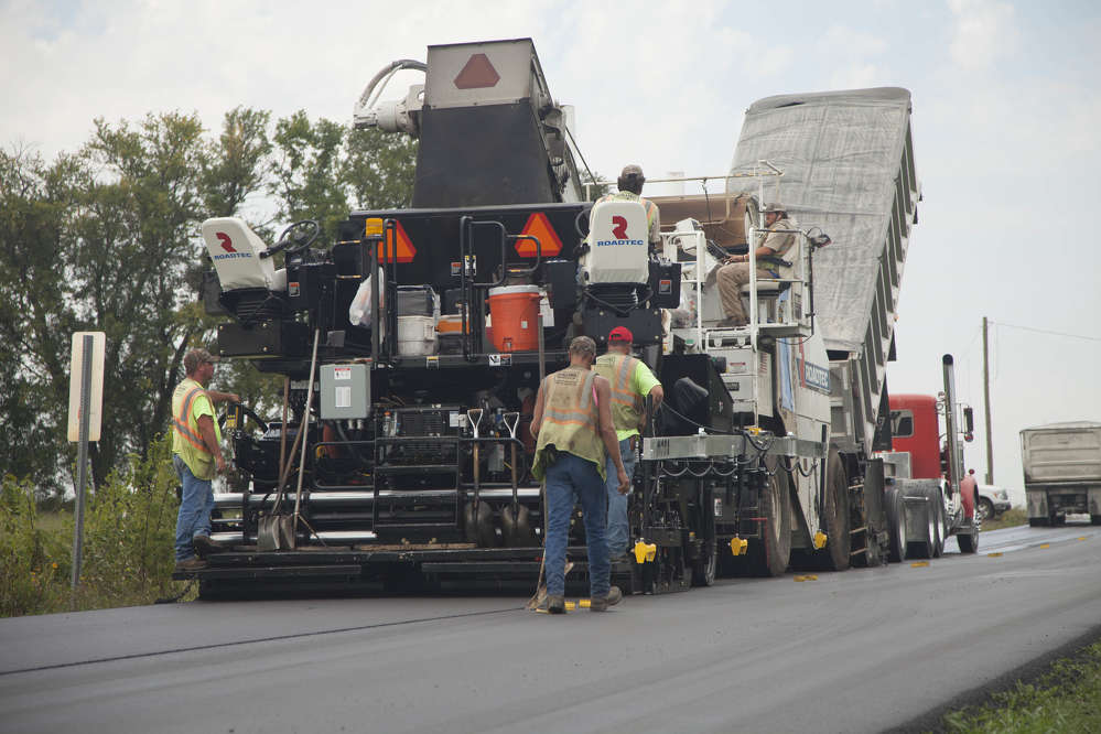 Markwell Paving Co., Oklahoma City, Okla., was selected as the contractor for the U.S. Highway 62 rehab project.