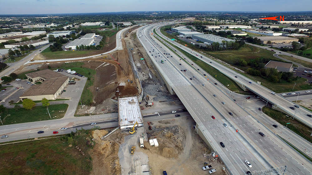 """KDOT photo. """"This is the biggest project we've ever done, twice as big as the last one, and it gives our folks an opportunity to work on something big,"""" said Paul Gripka, KDOT project director"""