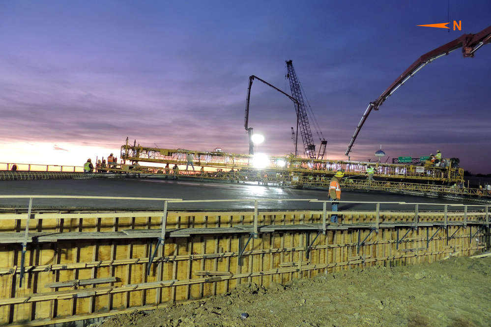 KDOT photo. The JoCo Gateway Interchange  is  considered a critical hub for both transportation and economic growth for the region and the state.