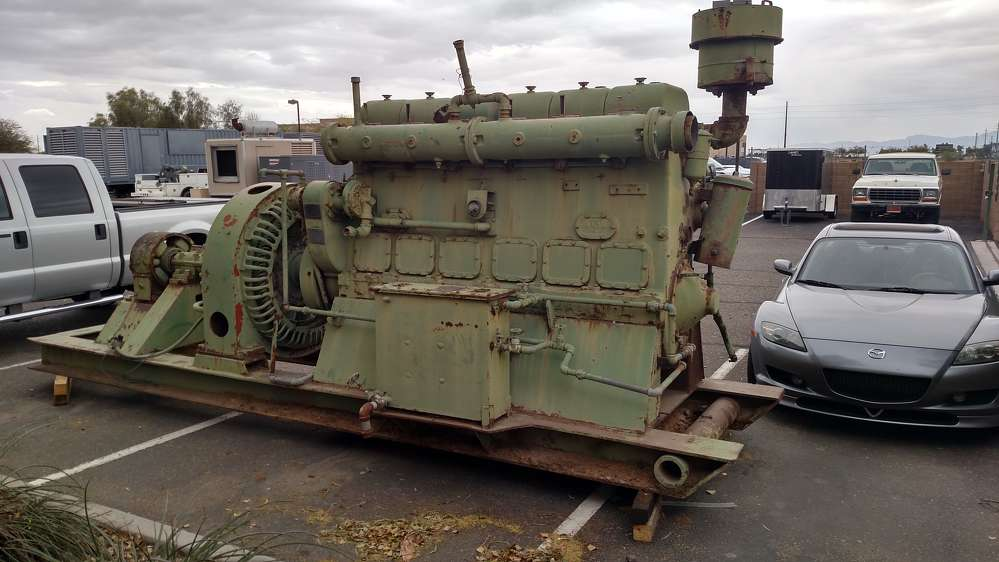 Chicago Pneumatic WWII generator. CP.com