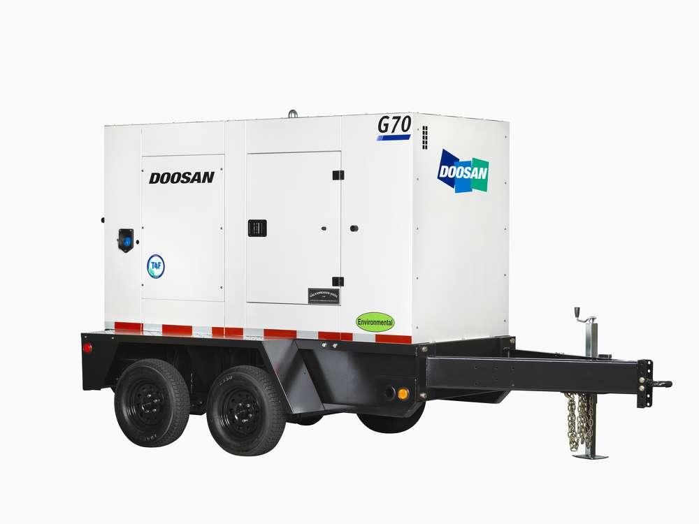 Doosan G70 Mobile Generator.