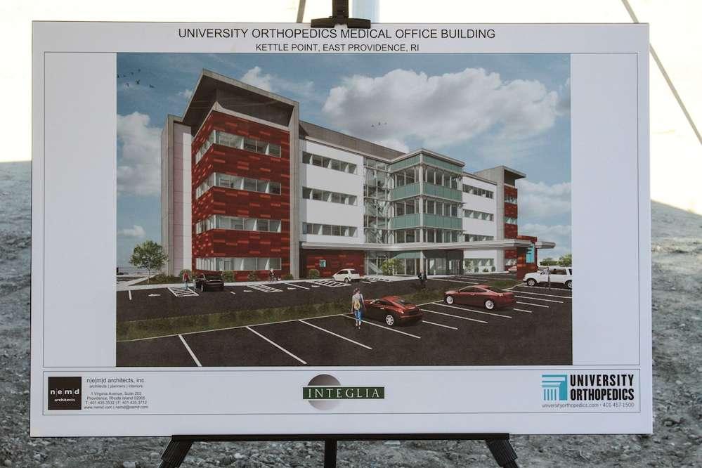 Michael Integlia & Company held a groundbreaking ceremony on Nov. 12 to celebrate the new home of  University Orthopedics.