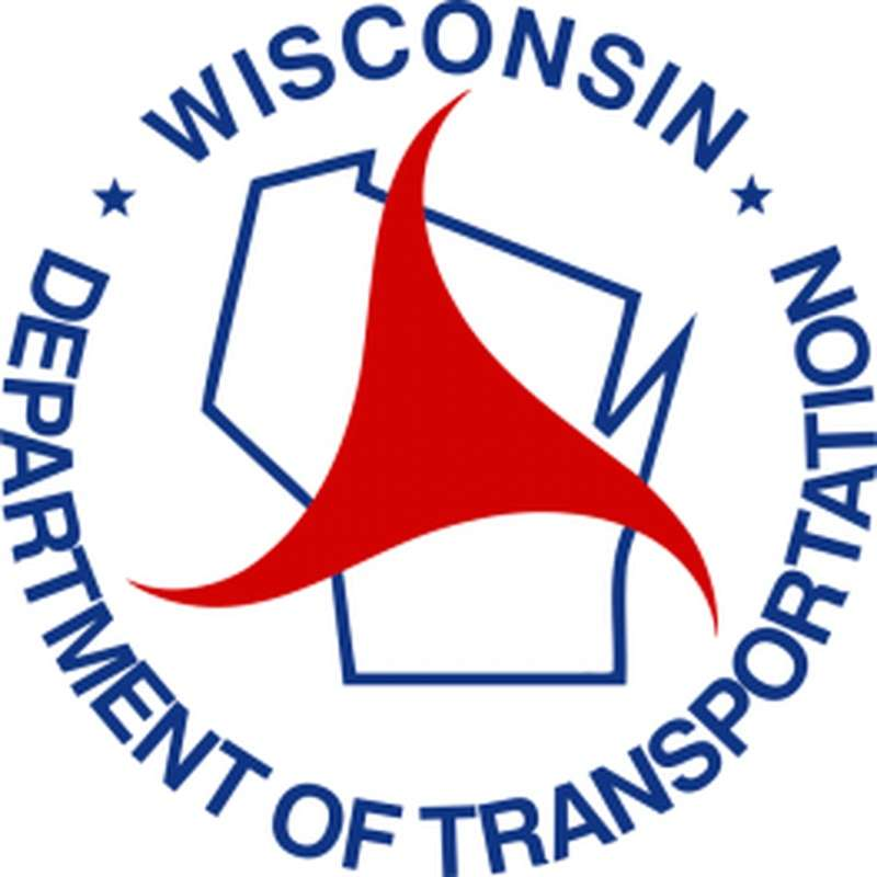 Wisconsin DOT logo.