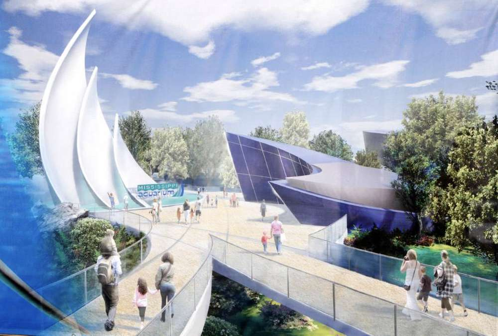 Artist rendering of the proposed aquarium. http://url.ie/11nrq