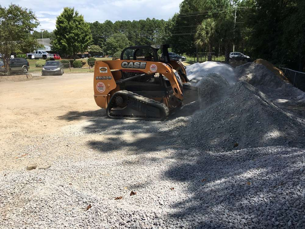 The company sells a variety of stone products and other material at its retail operation in Lexington, S.C.
