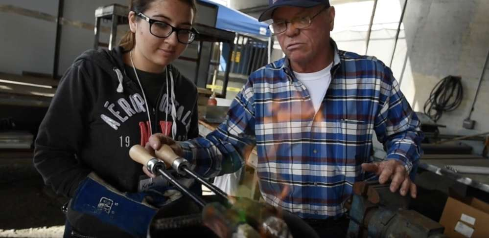 Veteran workers teach future generations the skills they need to work in the industry. (photo:John Walker)