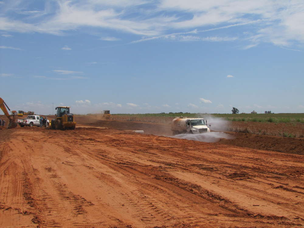 Phase 1 includes completing drainage structures, adding new lanes and detouring traffic.