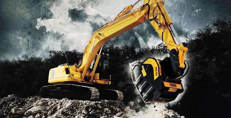 MB crusher bucket attachment. http://url.ie/11nz7