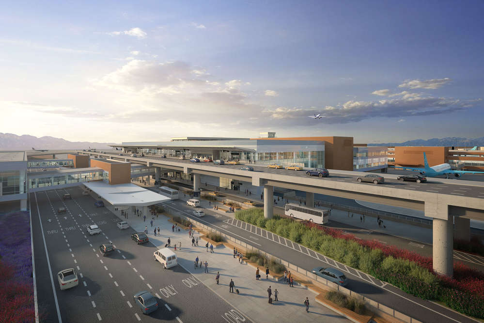"""Salt Lake City International Airport photo There was no doubt it was time for a new airport designed for the """"next generation"""" of travel. The first phase is set to open in 2020 and a second phase four years later."""