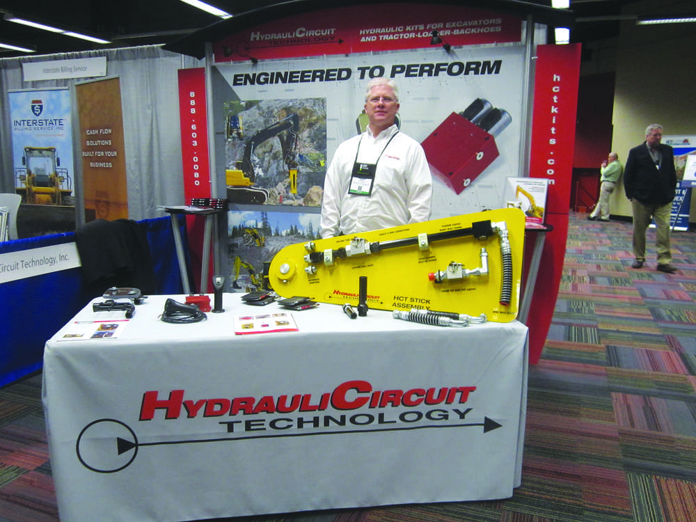 Greg Hickman, sales and marketing manager of HydrauliCircuit Technology.