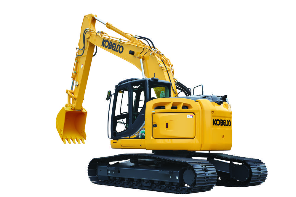 The enhanced KOBELCO SK230 provides full-size benefits with short rear swing capabilities and exceptional features.