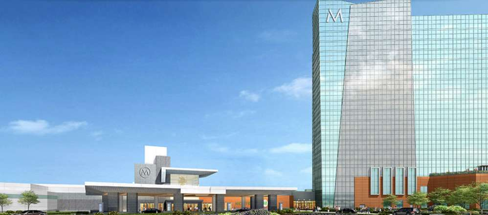 Artist rendering of the new Montreign Casino.