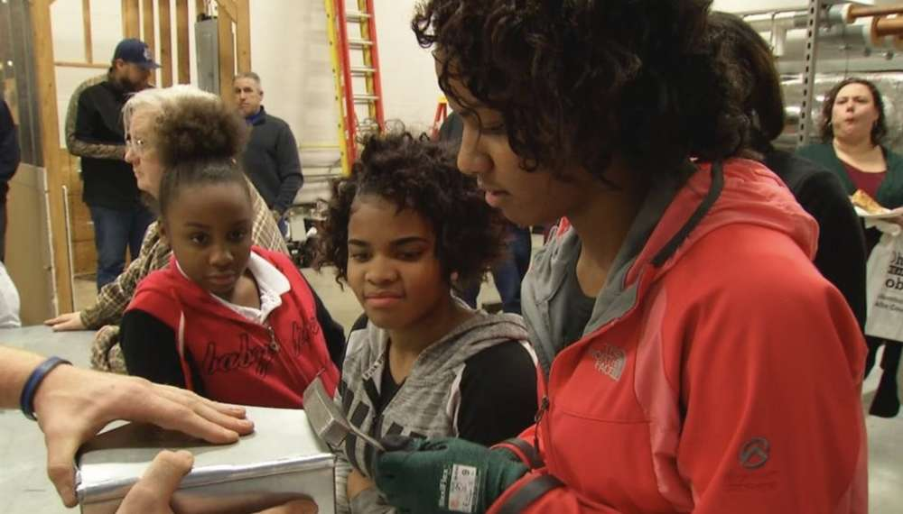 Young people learn more about the industry from experts in the local area. (WSYX/WTTE)