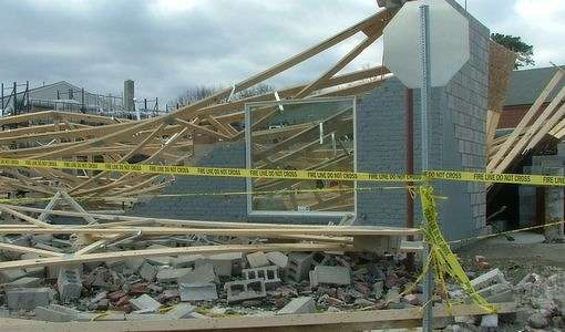 Building Under Construction Collapses In Nashua Story