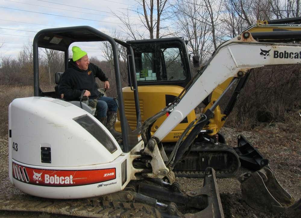 Greg Ziegler of Ziegler Concrete & Equipment put this Bobcat mini-excavator through its paces.