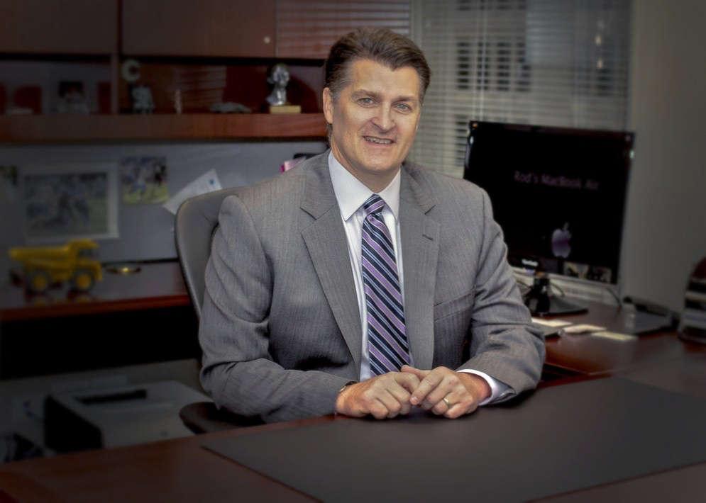 Rod Schrader CEO Komatsu America.